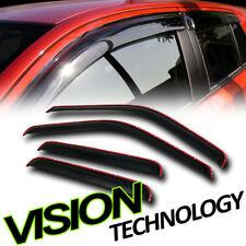 In-Channel Vent Shade Window Visor 99-16 F250 F350 Sd Super Duty Crew Cab Truck