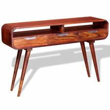 vidaXL Console End Hall Table Telephone Stand Sideboard Solid Sheesham Wood