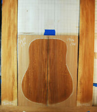 figured Quartersawn sycamore  tonewood guitar luthier set back and sides