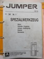 Werkstattbuch Reparaturleitfaden Citroen Jumper Motoren Diesel Benzin #17139