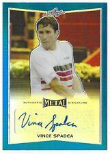 Vince Spadea 2016 Leaf Metal Tennis Black #BA-VSI /50 Autograph Card
