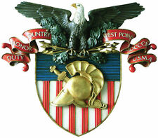 Framed US Military Insignia Print – United States Military Academy Coat Of Arms