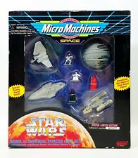 Star Wars Micro Machines Rebel vs Imperial Forces Gift Set 1996 Galoob No. 68042
