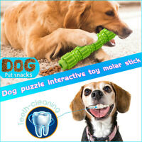 Aggressive Dog Chew Toy Chewers Treat Training Rubber Pet Tooth Cleaning Tool aa