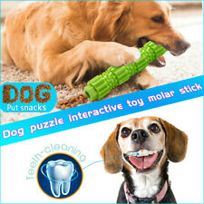 Dog Chew Toys for Aggressive Chewers Treat Training Rubber Tooth Cleaning Toy