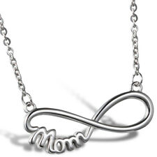 Stainless Steel Infinity Necklace for Mom Family Jewelry Mother's Christmas Gift