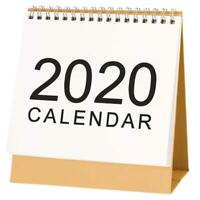 2019-2020 Calendar Desk Desktop Office Plan Flip Stand Table Planner Scheduler
