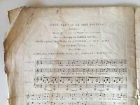 Spartito Tutti Bas ! O Il Vero Fortuna Musica Camille Pleyel Ignazio Pleyel XIX