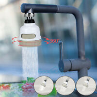 360 DEGREE ROTATING FAUCET Moveable Kitchen Tap Head Water Saving Filter Sprayer
