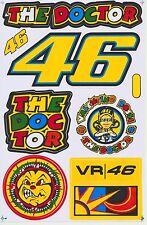 46 Valentino Rossi Moto-GP Helmet Racing Sticker Car Bike Notebook Kits Decals