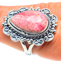 Rhodochrosite 925 Sterling Silver Ring Size 8 Ana Co Jewelry R58709F