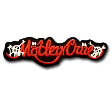 Motley Crue Patch Embroidered Glam Metal Band Applique Emblem Steel Panther