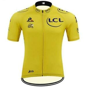 Tour de France LCL Retro Cycling Jersey