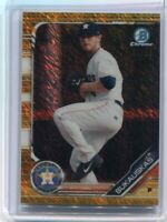 2019 Bowman Chrome Prospects JB J.B. Bukauskas Gold Wave Refractor /50 #BCP-233