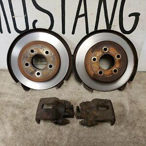 "Rear Disc Brake Kit Ford 9"" inch Mustang F150 Brakes"