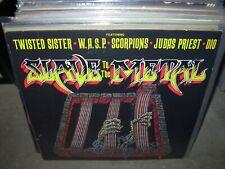 TWISTED SISTER / WASP / SCORPIONS / JUDAS PRIEST / DIO slave to metal ( rock )