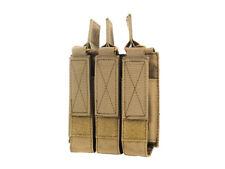Magazintasche für 3 Magazine in Kal. 9 mm in Coyote - Molle System MP5 P90