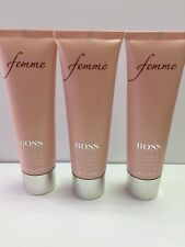 BOSS FEMME HUGO BOSS 3 X PERFUMED BODY LOTION FOR WOMAN 50 ML = 150 ML