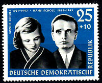 852 postfrisch DDR Briefmarke Stamp East Germany GDR Year Jahrgang 1961