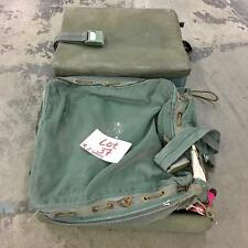 (2) Vietnam Era - USAF ejection seat survival kit container, type MD-1... Lot 37