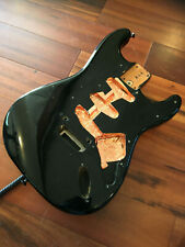 1986 Fender Japan MIJ Strat Alder Body Stratocaster Aged Black 2 Point 80s 562