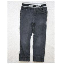 Black Jeans Pants Boys Size Five 5T Dip Toddler Cotton Spandex 99/1 Kids B10
