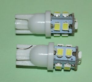 MGB LED front side light bulbs for rubber bumper cars 2 pc, replaces GLB223 bulb