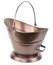 Manor 0364 Waterloo Fireside Fireplace Coal Scuttle Bucket Helmet Copper Bronze