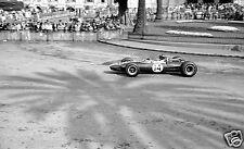 MONACO GRAND PRIX 1967  GRAHAM HILL BRM CASINO SQUARE PHOTOGRAPH