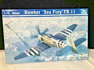 Trumpeter 1/72 Hawker Sea Fury FB.11