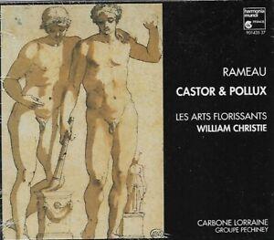 RAMEAU: CASTOR & POLLUX William Christie HARMONIA MUNDI 3 CD NEW SEALED