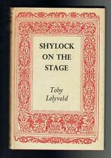 Lelyveld, Toby; Shylock on the Stage. Routledge & Kegan Paul 1944 Good