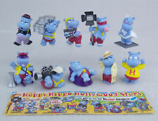 KINDER FERRERO SURPRISE HAPPY HIPPO HOLLYWOOD MOVIE SERIE COMPLETA CAKE TOPPERS