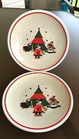 Epoch Noritake, Holiday Joy, Stoneware Dinner Plates, Christmas, 8200 Set of 2