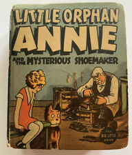 VINTAGE BIG LITTLE BOOK BLB LITTLE ORPHAN ANNIE AND THE MYSTERIOUS SHOEMAKER