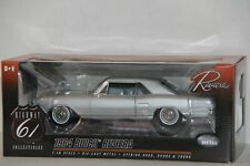 1/18 HIGHWAY 61 1964 BUICK RIVIERA #50369 , SILVER , NEW