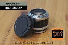 REAR LENS CAP for Olympus PEN F FT lens 20mm 25mm 38mm 40mm 42mm 60mm 70mm 100mm
