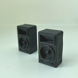 1:18 Scale 2 x Club Speakers for Diorama Garage, Workshop, Doll House