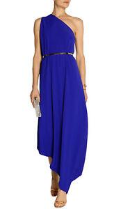 RRP €2540 STELLA McCARTNEY Cocktail Greek Style Dress Size 40 / S One Shoulder