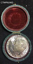 MEDAILLE ARGENT MONACO JUBILE 25 ANS DE REGNE 1974 RAINIER III DANS SA BOITE