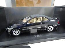 1:18 Mercedes-Benz Museumsmod. # B66962174 CLK Cabrio Negro con Faltstoffdach +
