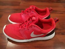 Nike Roshe Run Hyper Mens Athletic Shoes Red Mesh Breathable 636220-600 Size 7.5