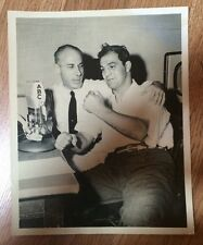 1950's Rocky Marciano Press Photo - Sports Today with Bill Stern ABC Radio