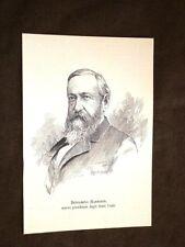 Benjamin Harrison 1888 North Bend, 20 agosto 1833 – Indianapolis, 13 marzo 1901