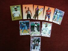 "BO JACKSON - 9 DIFF. BRODER TYPE CARDS WITH ""BO KNOWS"" CARDS - NEAT!"