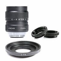 Fujian 25mm F/1.4 CCTV Movie Lens for Fujifilm X mount camera XE1 XE2 XT1 XT2
