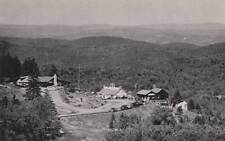 Vintage POSTCARD c1950s View from Ski Area Hogback Mountain VT VERMONT 16810