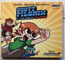 Scott Pilgrim Vs. The World Game CD Soundtrack Music Anamanaguchi PS3 Xbox 360