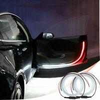 2PCS Car Door Safety LED Light Warning Lamp Strip Anti-collision Prompt Lights