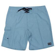 Oakley Crater Beach Shorts Simple Blue 36 XL Mens Casual Boardshort Beach Short